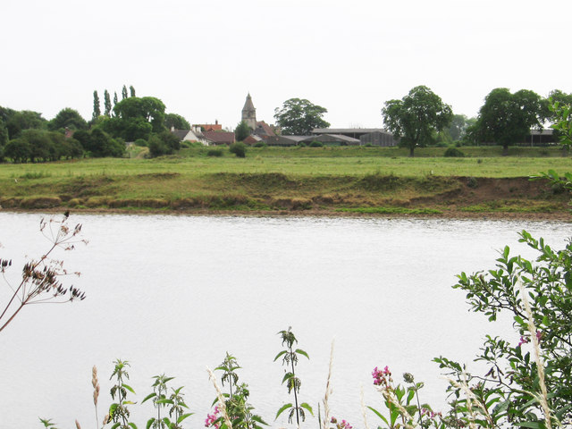 North Muskham - view across River Trent