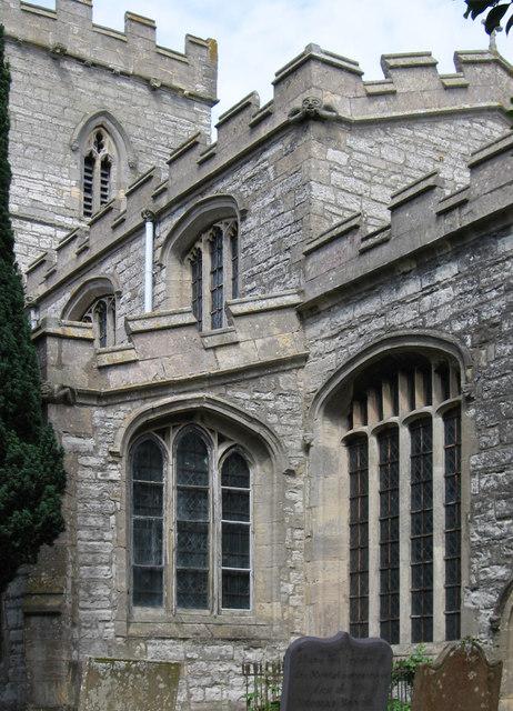 North Muskham - church windows