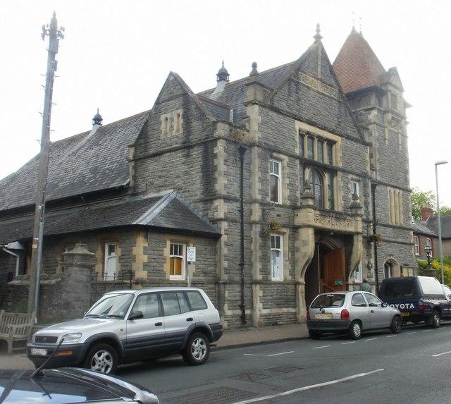 Clarence Hall, Crickhowell