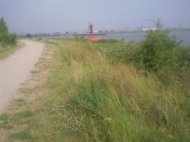 The Thames Path at Cross Ness
