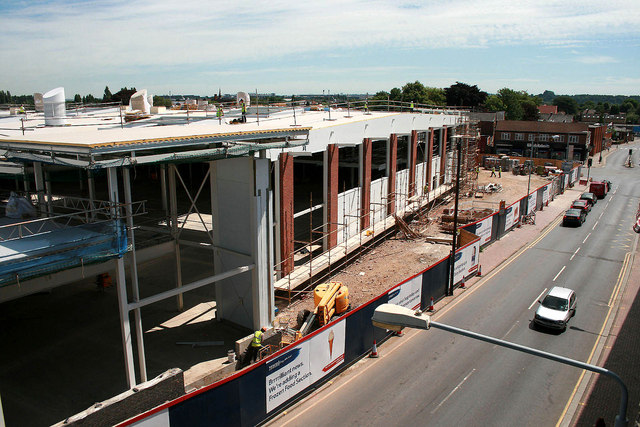 Building Beeston Tesco 9th July 2010