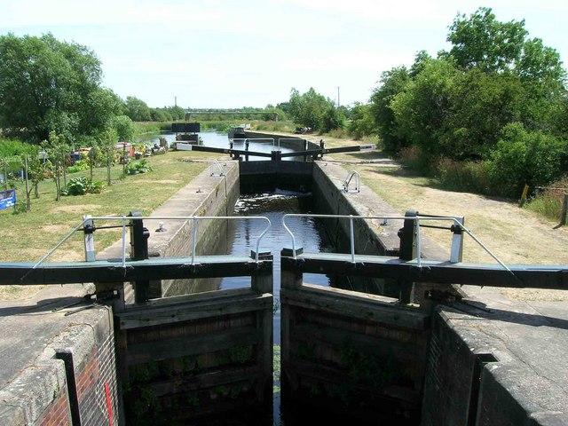 Lock No 49, River Soar, Sileby Mill