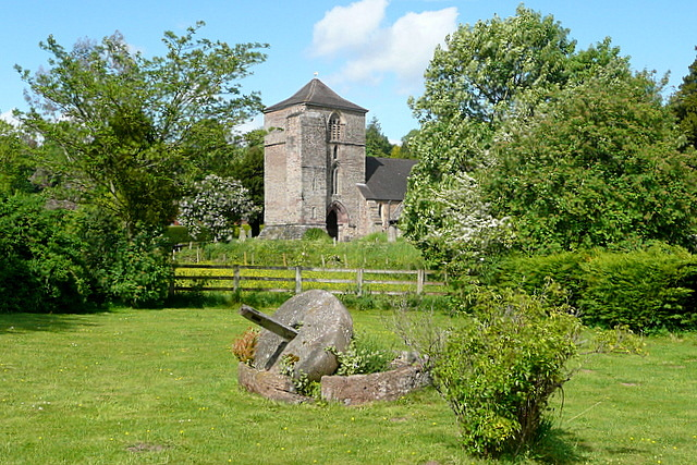 Ewyas Harold church