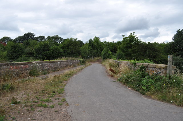 Railway bridge, Sedbury Lane, Tutshill