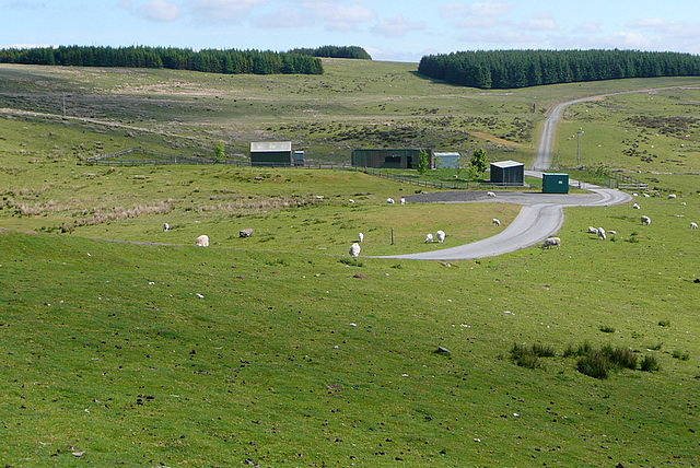 Southern entrance to the Epynt