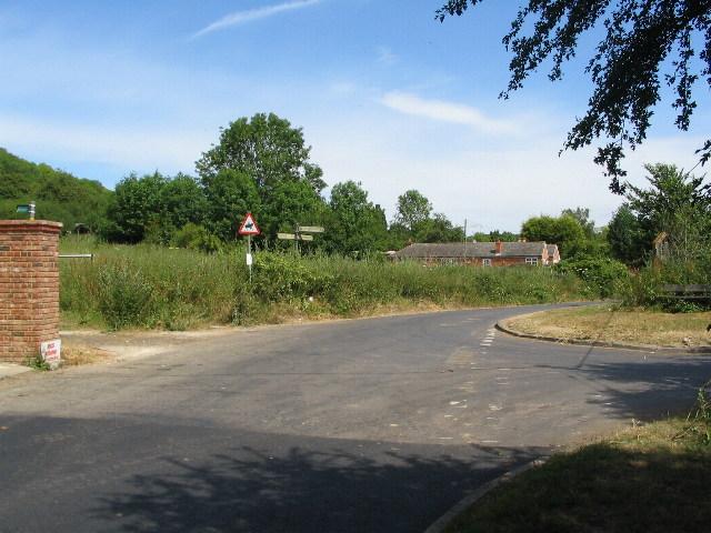 Knatts Lane junction, Knatts Valley