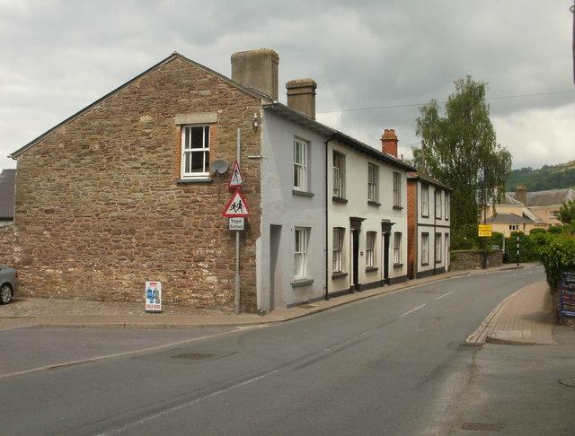 Beaufort Street houses, Crickhowell