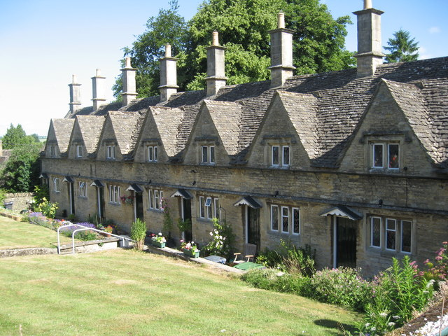 Almshouses on Church Lane Chipping Norton