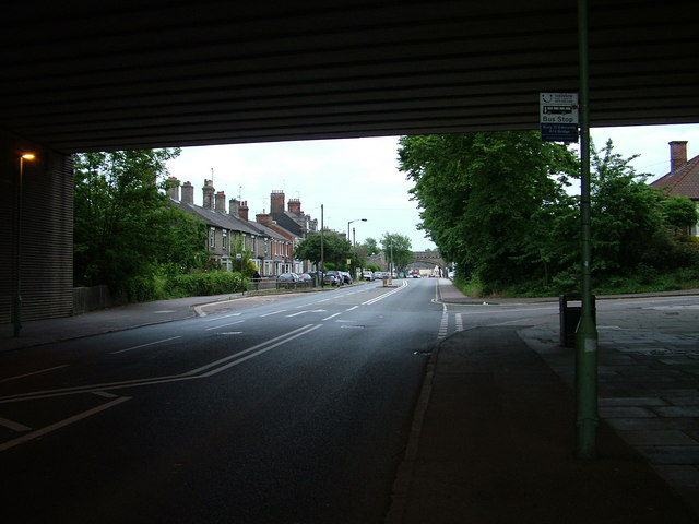 Fornham Road empty during football match