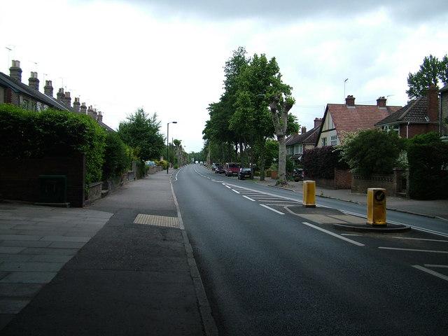 Empty Fornham Road during England match