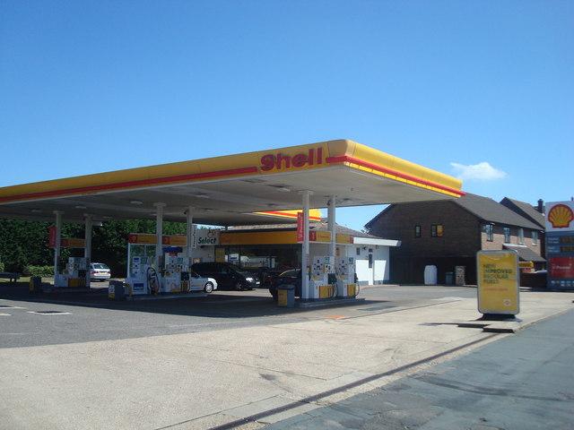 Petrol station, Earlswood