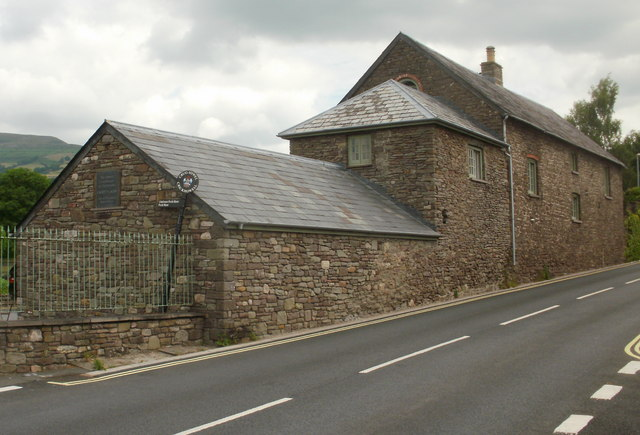 Restored coach house, Cwrt-y-carw, Crickhowell