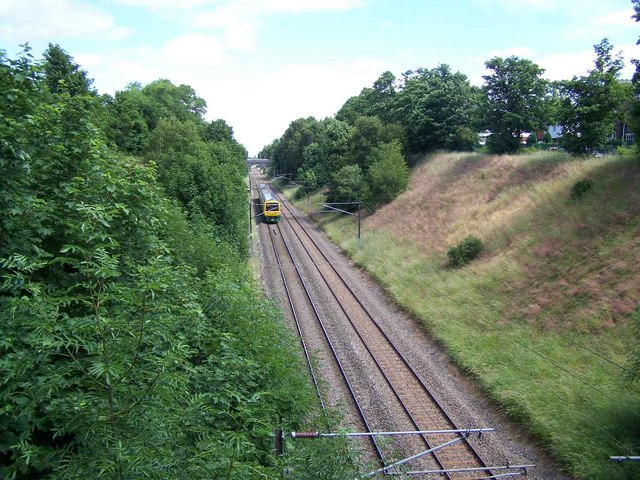 Railway Looking North