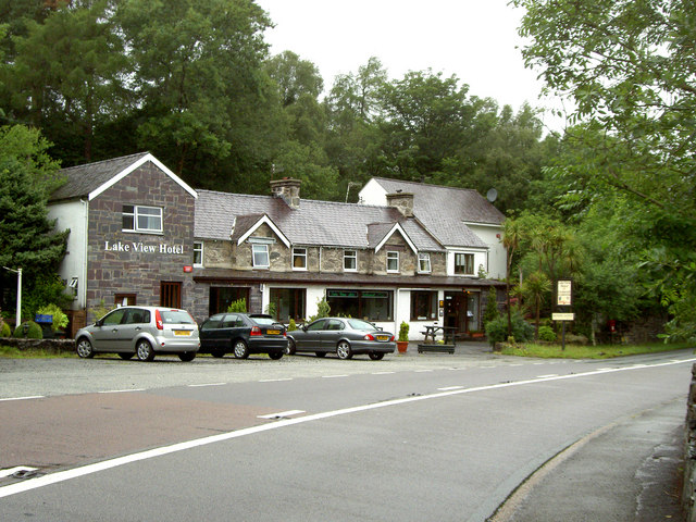 The Lake View Hotel at Pen-gilfach