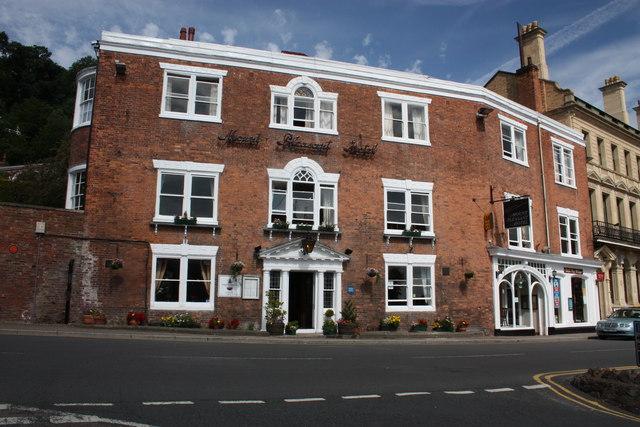 Mount Pleasant Hotel, Belle Vue Terrace, Malvern