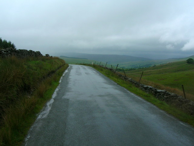 The road to Dentdale