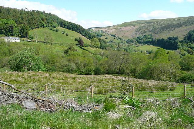 Irfon valley