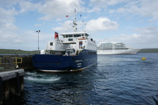 Bressay ferry in Lerwick