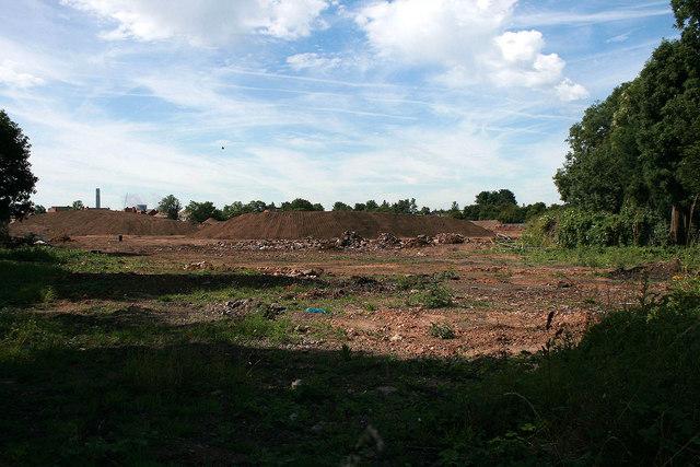 The site of Long Eaton Stadium