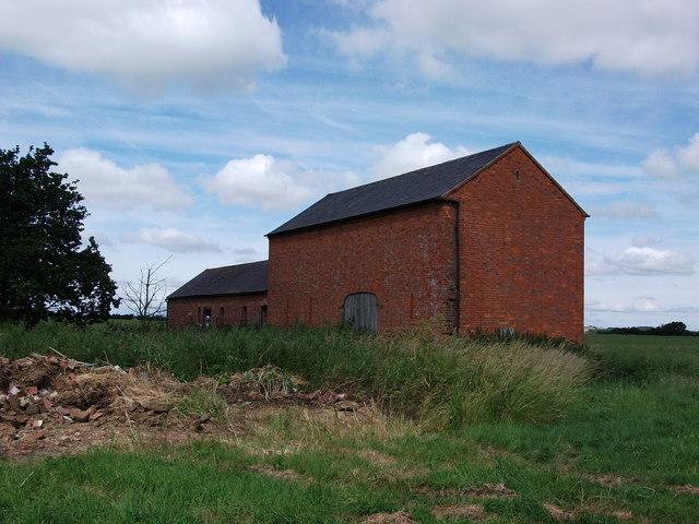 The remains of Church Farm