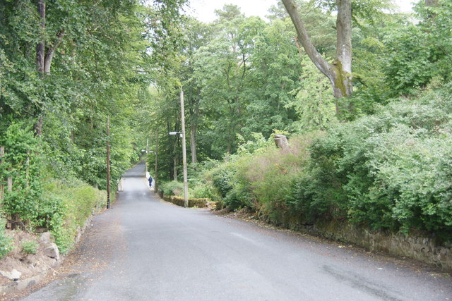 Road in Abington