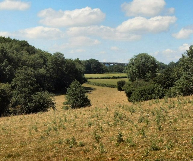 View towards Ouse Valley Viaduct