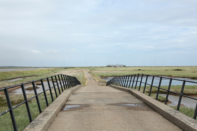 Chinese Wall Bridge, Orford Ness