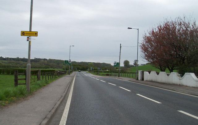 Dalry to Kilwinning Road