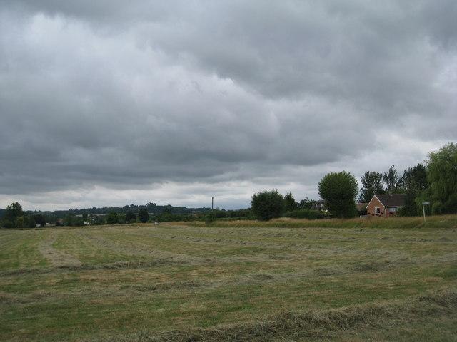 Hay meadow, Corse Lawn