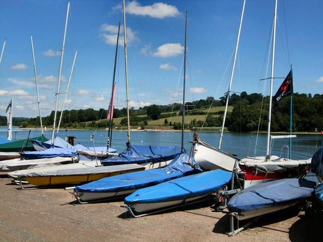 Boats near Ardingly Reservoir