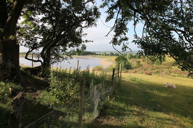 First glimpse of Thornton Steward Reservoir