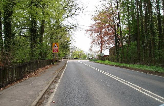 A737 outside Kilwinning