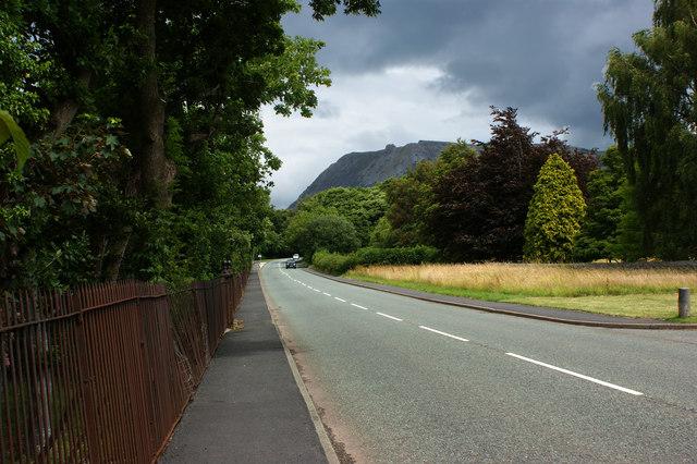 The road to Llanfairfechan