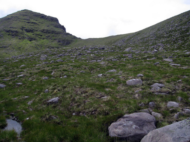 Ridge ahead