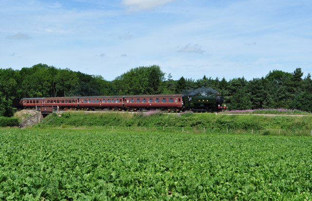 Steam Train at Crownthorpe