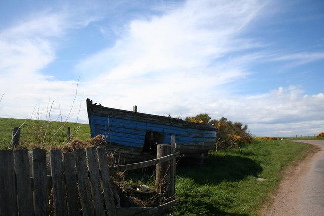 Boat by Kinneff
