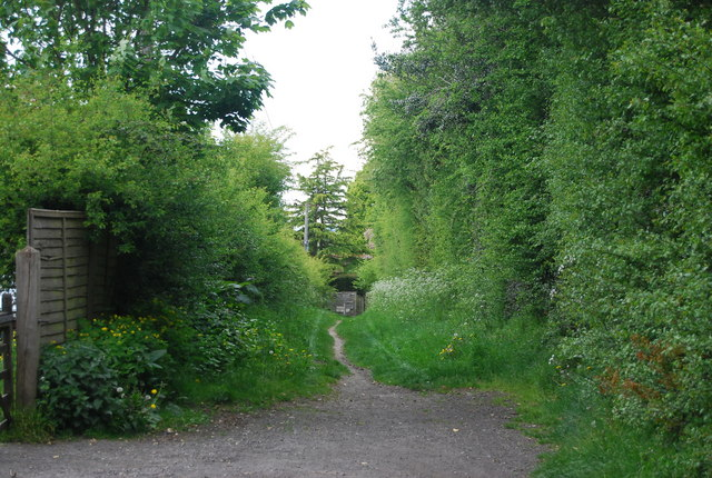 Footpath off Cricketfield