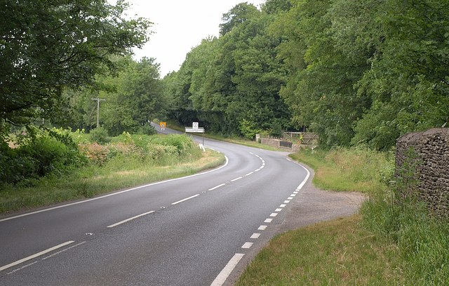 A419 at Two Mile Lodge