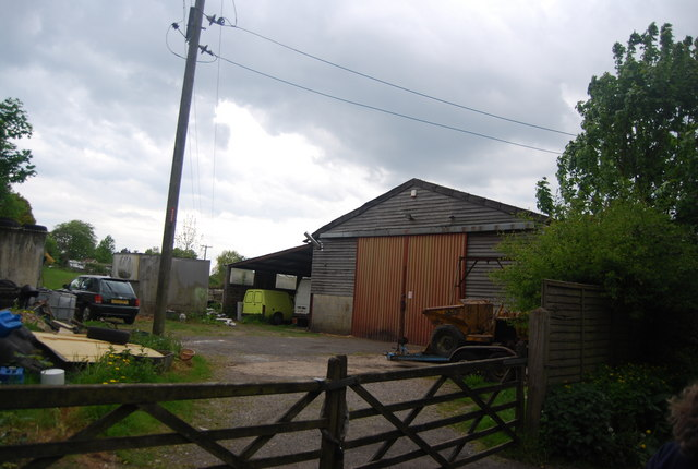 Barn by the footpath, Newick