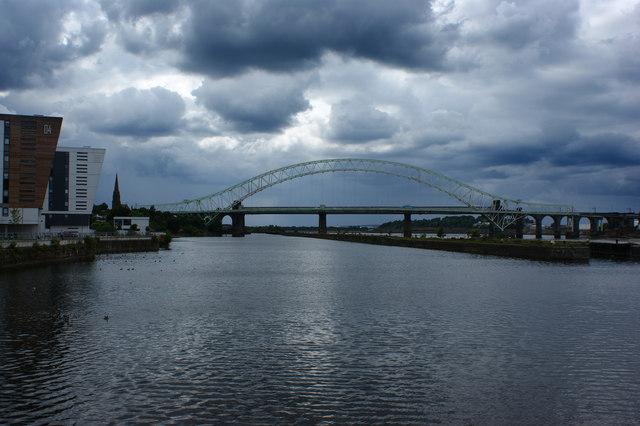 The Runcorn Bridge