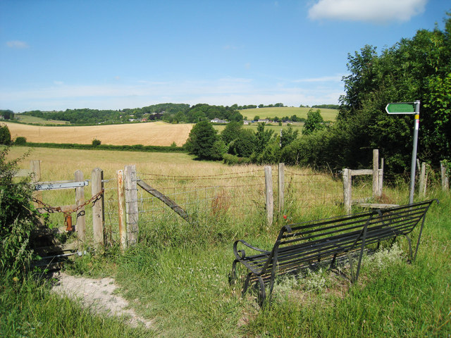 Bench and stile