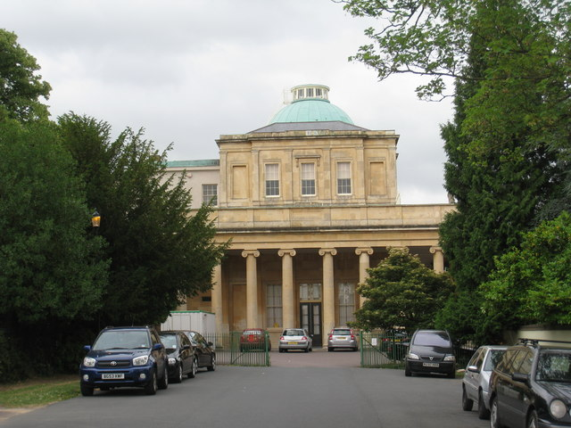 Pittville Pump Room from the west