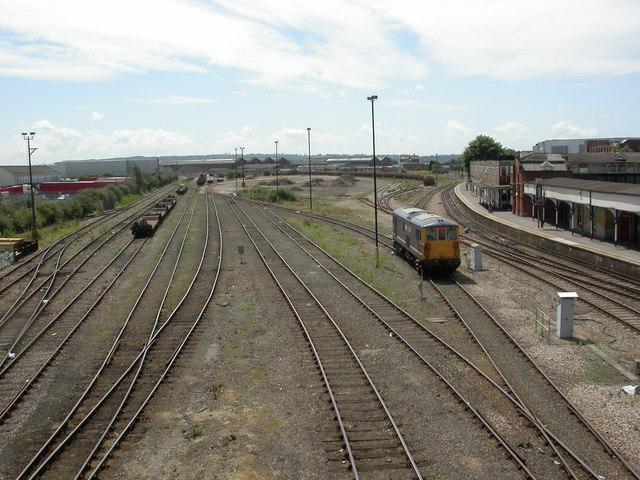 Eastleigh, sidings