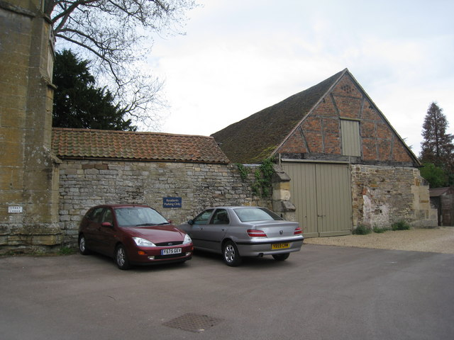 Buildings by the Abbey Gatehouse
