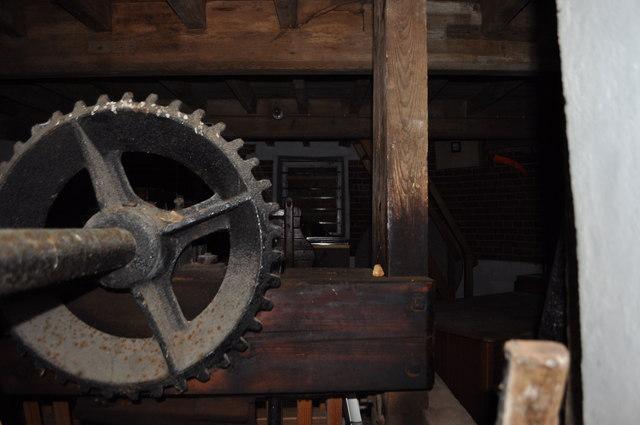 Inside Dereham Windmill