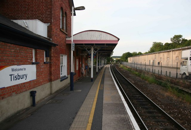 Waterloo to Exeter Railway Tisbury station