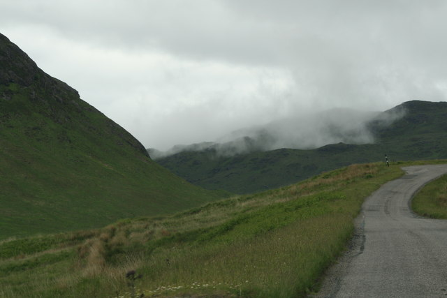 A849 Glen More by Loch Sguabain