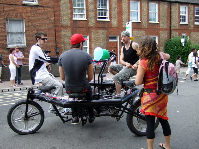 Conference bike in Cowley Road