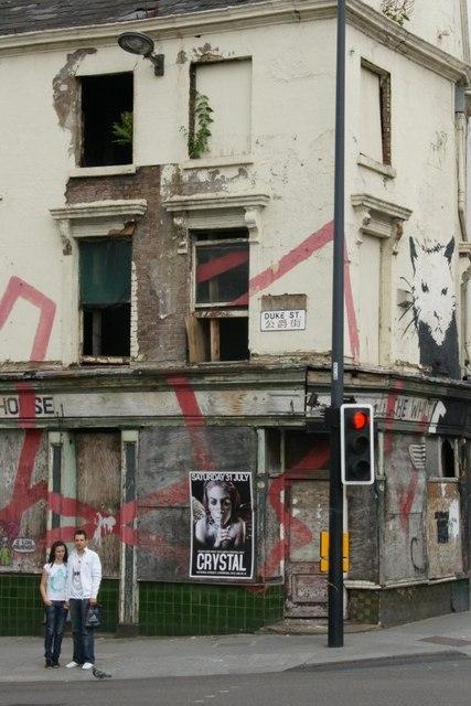 On the corner of Duke Street, Liverpool