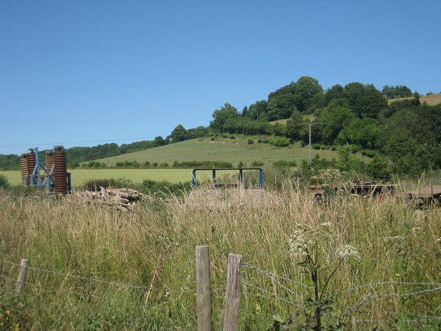 Fields near Dean Farm